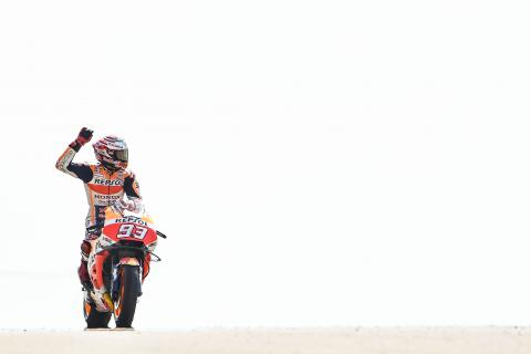 Marquez surprise after toppling Ducatis for top spot
