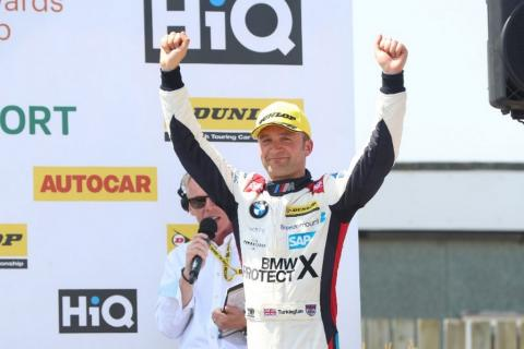 Turkington 'back in the game' after strong weekend