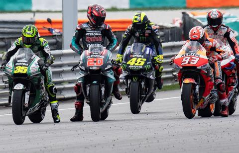 Which MotoGP races do you drop?