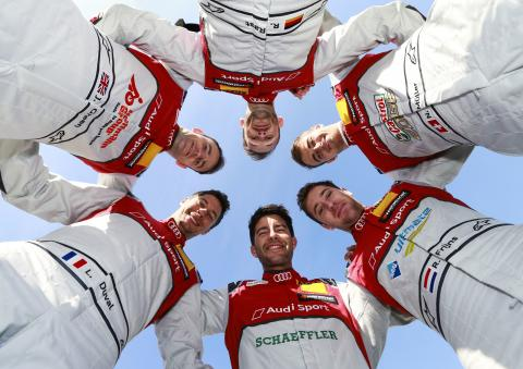Audi confirms unchanged DTM line-up for 2019