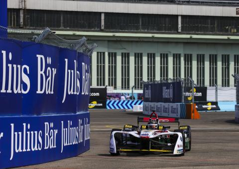 Abt dominates for Berlin Formula E victory, Audi 1-2