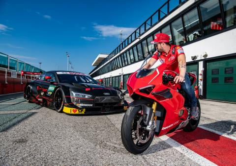 Dovizioso: Greatest DTM challenge racing line, finding limits