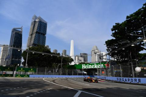 F1 Singapore GP - Free Practice 1 Results