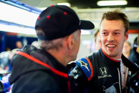 Tost backs Kvyat to regain best form at Toro Rosso in 2019