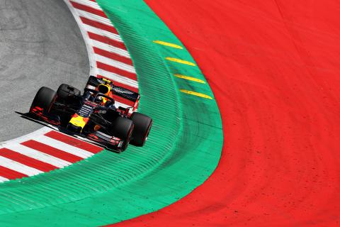 F1 Austrian Grand Prix - FP1 Results