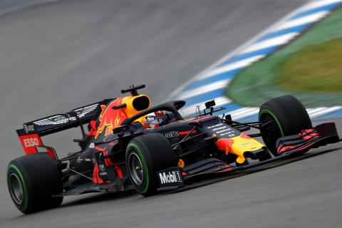 Verstappen wins wet German GP thriller as rivals falter