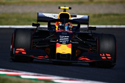 Albon starting to feel more comfortable in Red Bull F1 car