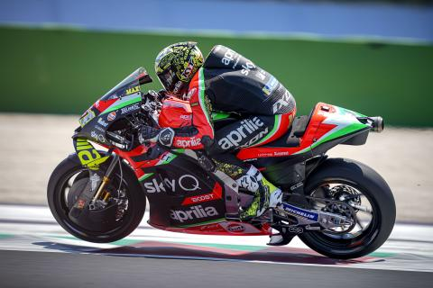 Aleix 'can't wait for Jerez', Aprilia decisions taken