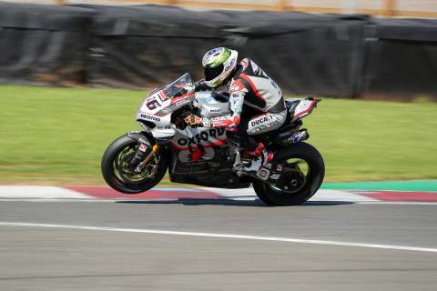 Tommy Bridewell - Oxford Racing Ducati [credit: Ian Hopgood]