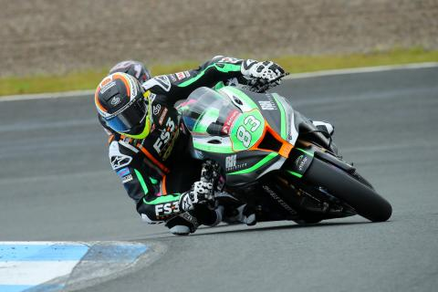 Buchan, FS-3 Kawasaki clinch maiden BSB win, Redding 15th to 2nd