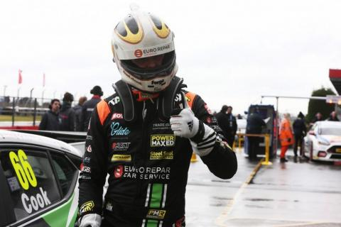 Cook holds off Cammish for maiden BTCC win