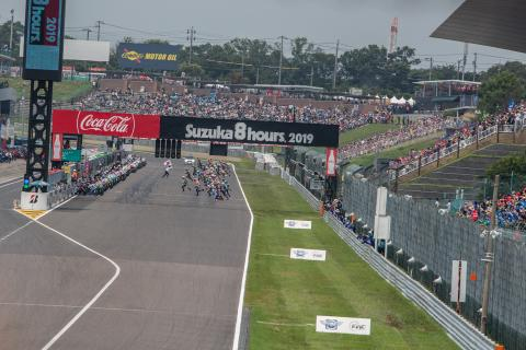 Suzuka 8 Hours, race start,