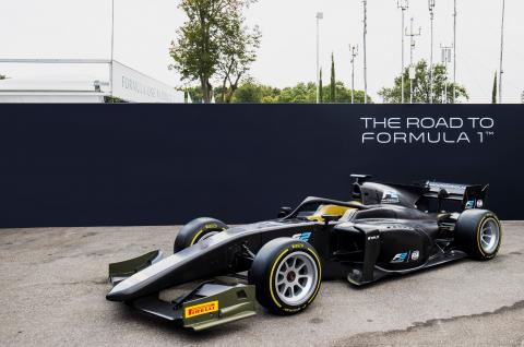 F2 cars to use 18-inch Pirelli tyres from 2020