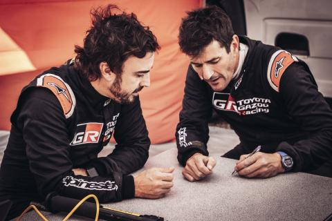Alonso's co-driver confirmed as Dakar preparation continues