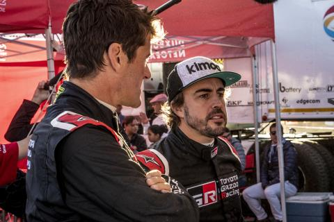 Alonso confirmed for 2020 Dakar Rally with Toyota