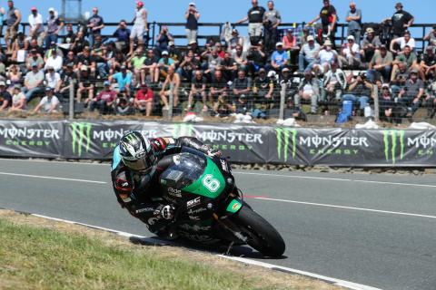 TT 2018: Dunlop completes treble with maiden Lightweight win