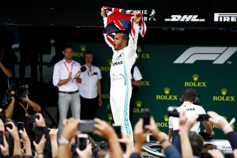 Hamilton scores record 6th British GP win as Vettel, Verstappen clash