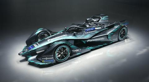 Jaguar reveals FE season five concept livery