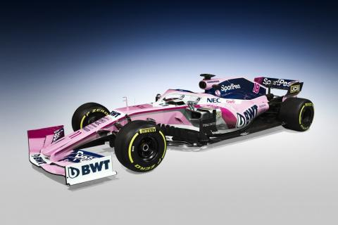 Racing Point launches new F1 car