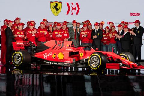 Ferrari reveals its 2019 F1 car