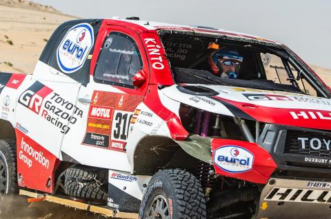 WATCH: Alonso rolls car twice in big Dakar Rally crash