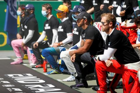 """Hamilton """"not distracted"""" by fight against racism amid F1 title bid"""