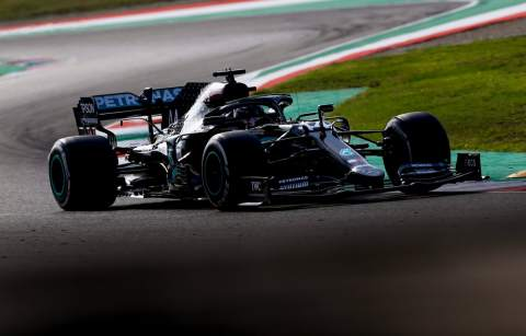 Hamilton claims 90th F1 win in crazy stop-start Tuscan GP