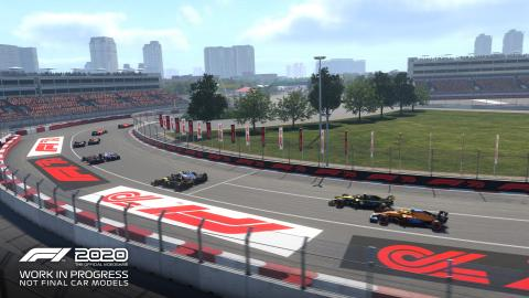 First look at Vietnam's Hanoi Circuit on F1 2020 game
