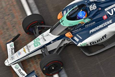 Fernando Alonso to start Indy 500 in 26th