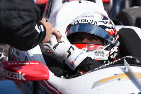 Newgarden leads abbreviated opening practice at COTA