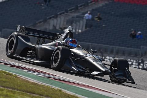 Herta leads first day of COTA IndyCar testing