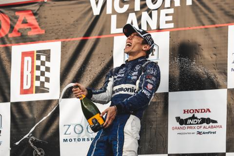 Honda Indy Grand Prix of Alabama - Full Results