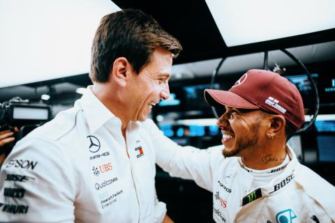 Wolff: 'Complications' for Hamilton disappeared at Mercedes