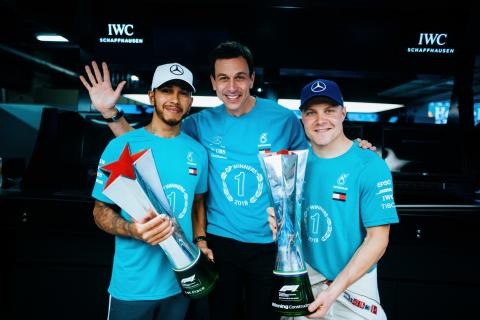 Wolff relieved to win 'most difficult' F1 championship yet