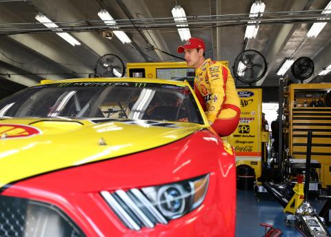 Joey Logano unbeatable in opening stage at Michigan