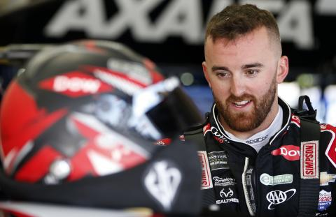 Early pitstop propels Austin Dillon to Stage 2 win at Michigan