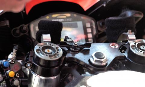 Ducati holeshot device caught on camera - Updated