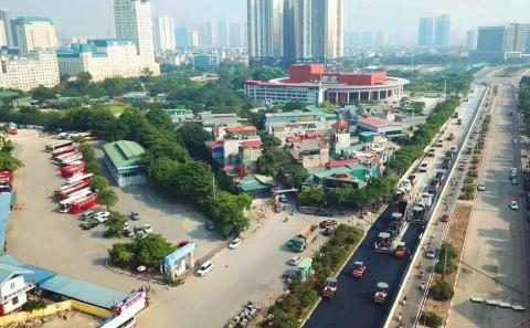 New images of Hanoi F1 circuit released with track on schedule