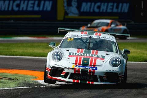Gamble fends off Zamparelli for race two Monza win
