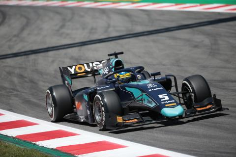 Sette Camara grabs pole in red flag stalled qualifying