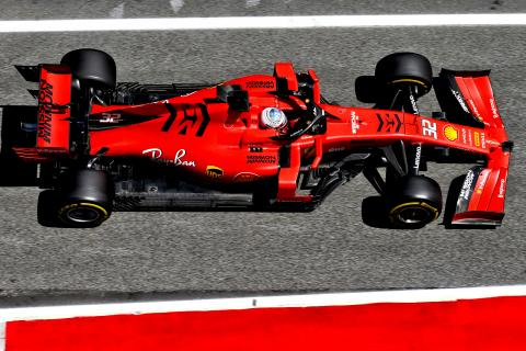 Spain F1 In-Season Test Times - Wednesday 5pm