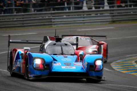 24 Hours of Le Mans - Hour 17 Results