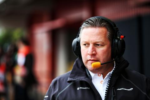 Brown: F1 2019 not a 'now or never' year for humble McLaren