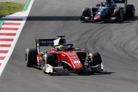 F2 Spain - Feature Race Results