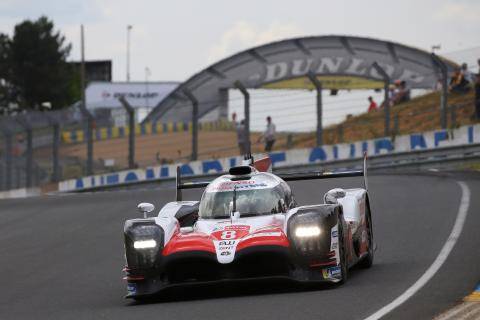 Alonso ends Le Mans test day fastest for Toyota