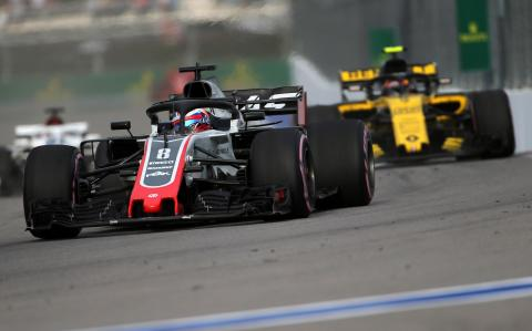 Steiner: Monza protest proves Renault 'desperate' in Haas fight