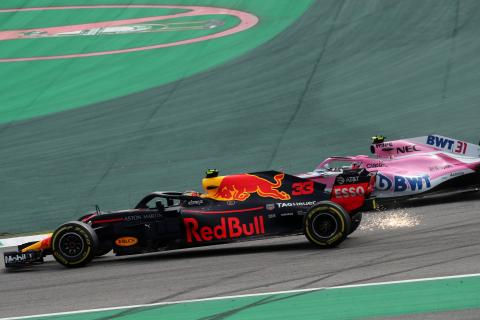 Horner: Ocon 'lucky to get away' with a push from Verstappen