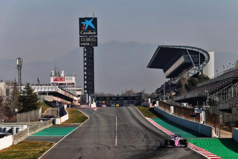 Barcelona F1 Test 2 Times - Friday 3pm