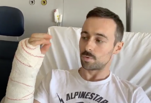 Laverty undergoes surgery, hopeful of '100 per cent' recovery
