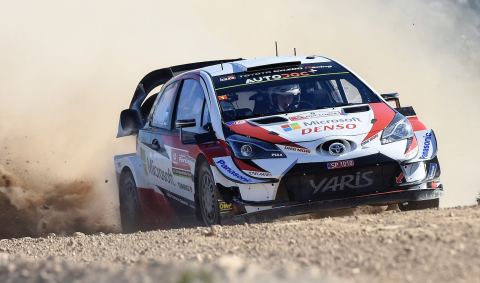 Tanak heads up Toyota 1-2-3 in Rally de Portugal